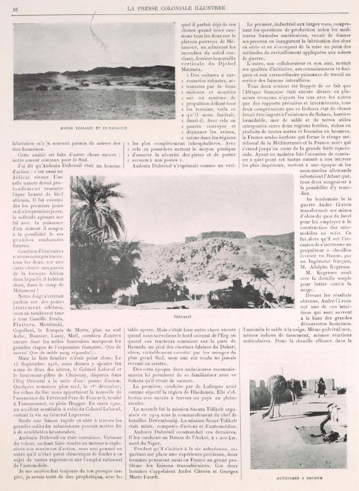 La 2ème traversée du SAHARA 513