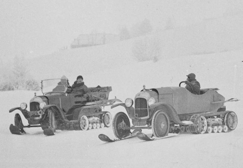 Concours de voitures à neige au Col du Sappey le 9 Février 1922 515