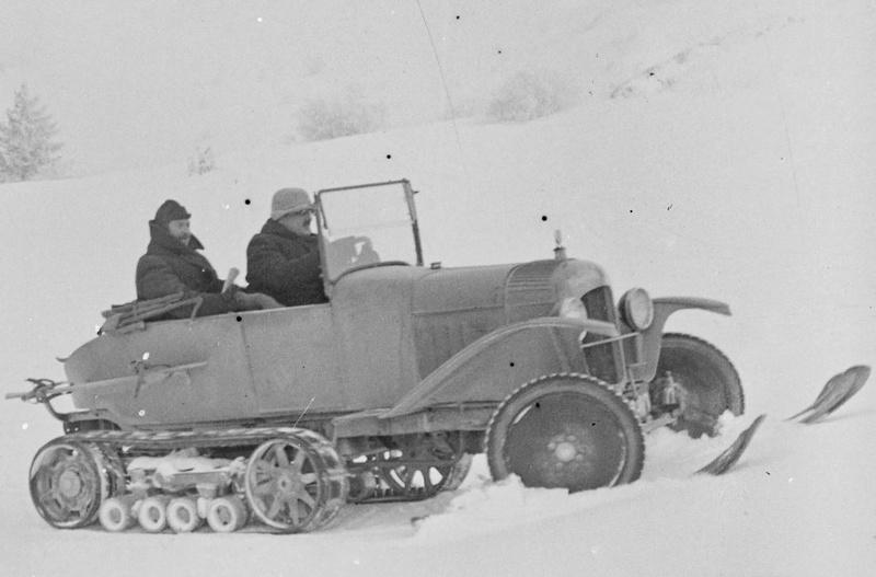 Concours de voitures à neige au Col du Sappey le 9 Février 1922 613