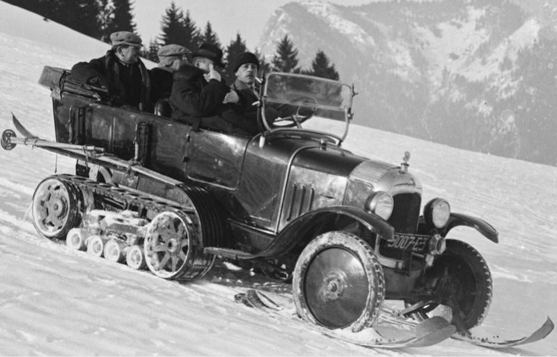 Concours de voitures à neige au Col du Sappey le 9 Février 1922 816