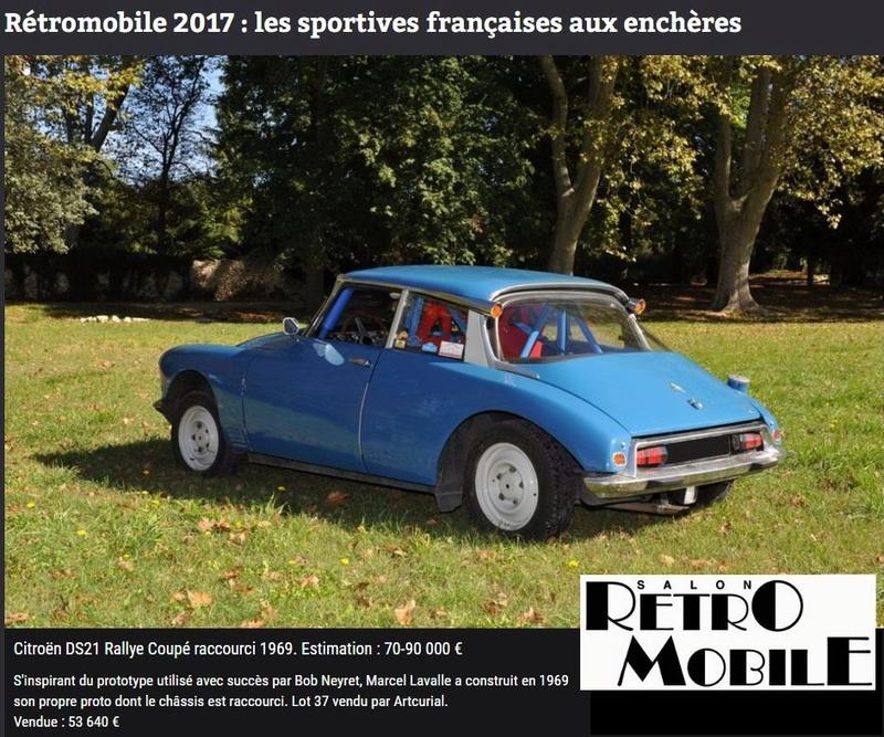 RETROMOBILE (Paris) du 8 au 13 Février 2017 910