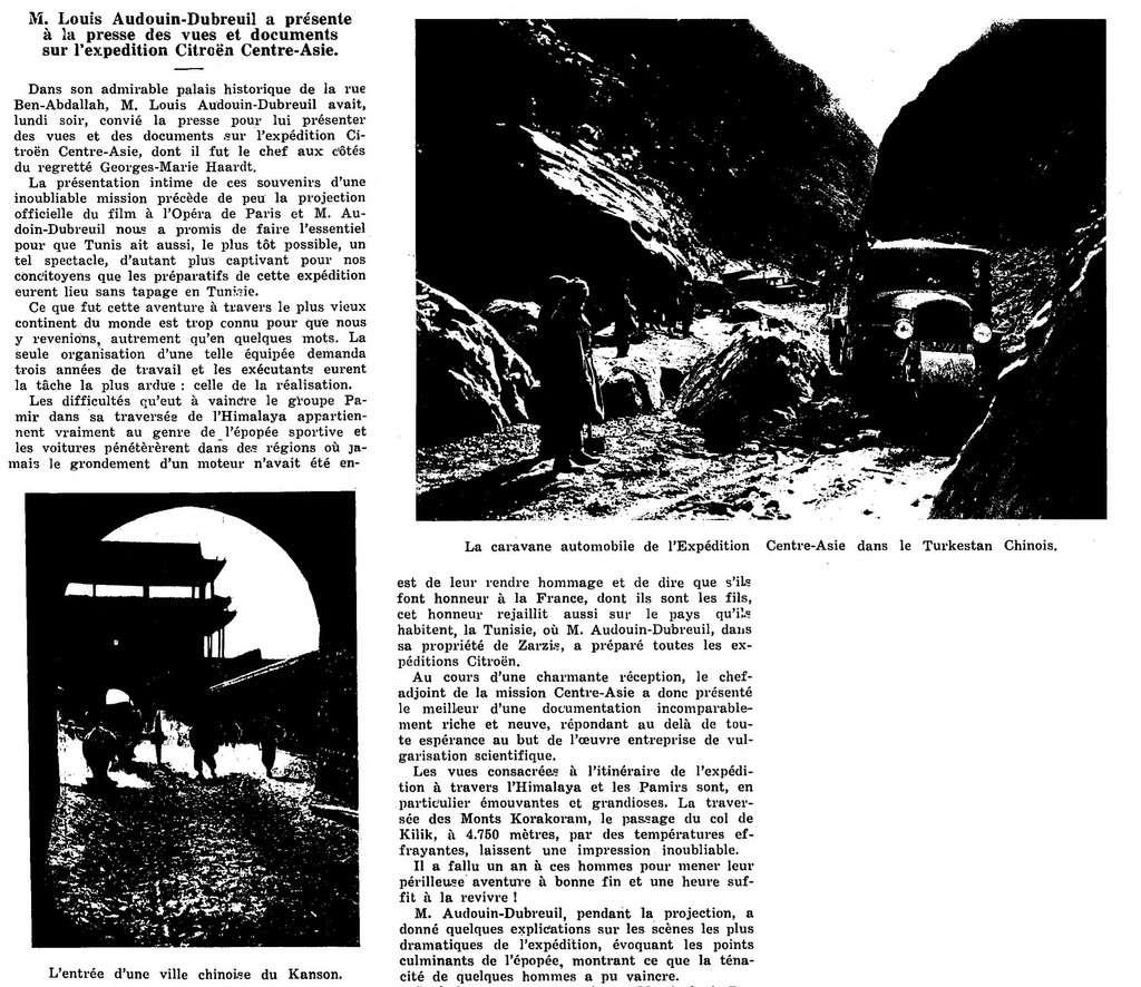 la Croisière jaune - Page 5 Export20