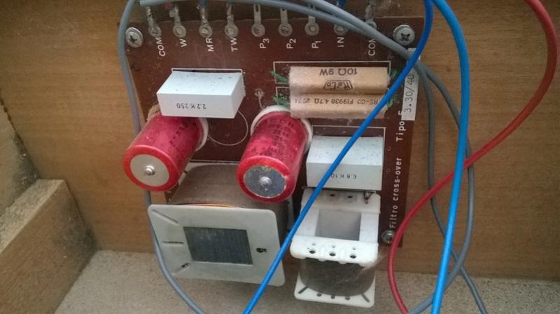 Consigli per ripristinare casse RCF BR45 e Electronic melody (CIARE)  Wp_20115