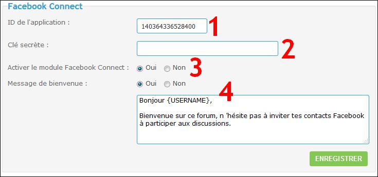 Configurer et utiliser Facebook Connect sur son forum Fb6-110