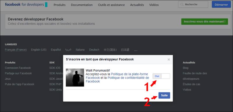 Configurer et utiliser Facebook Connect sur son forum Fbb10