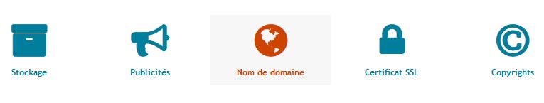 Noms de domaine personnalisés Tuto111