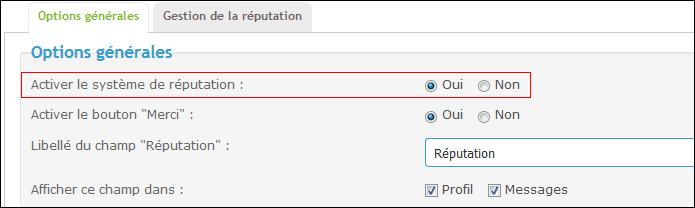 Le système de réputation (Evaluation des posts + le bouton Merci) Tuto112