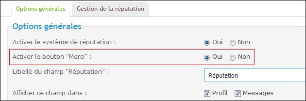 Le système de réputation (Evaluation des posts + le bouton Merci) Tuto113