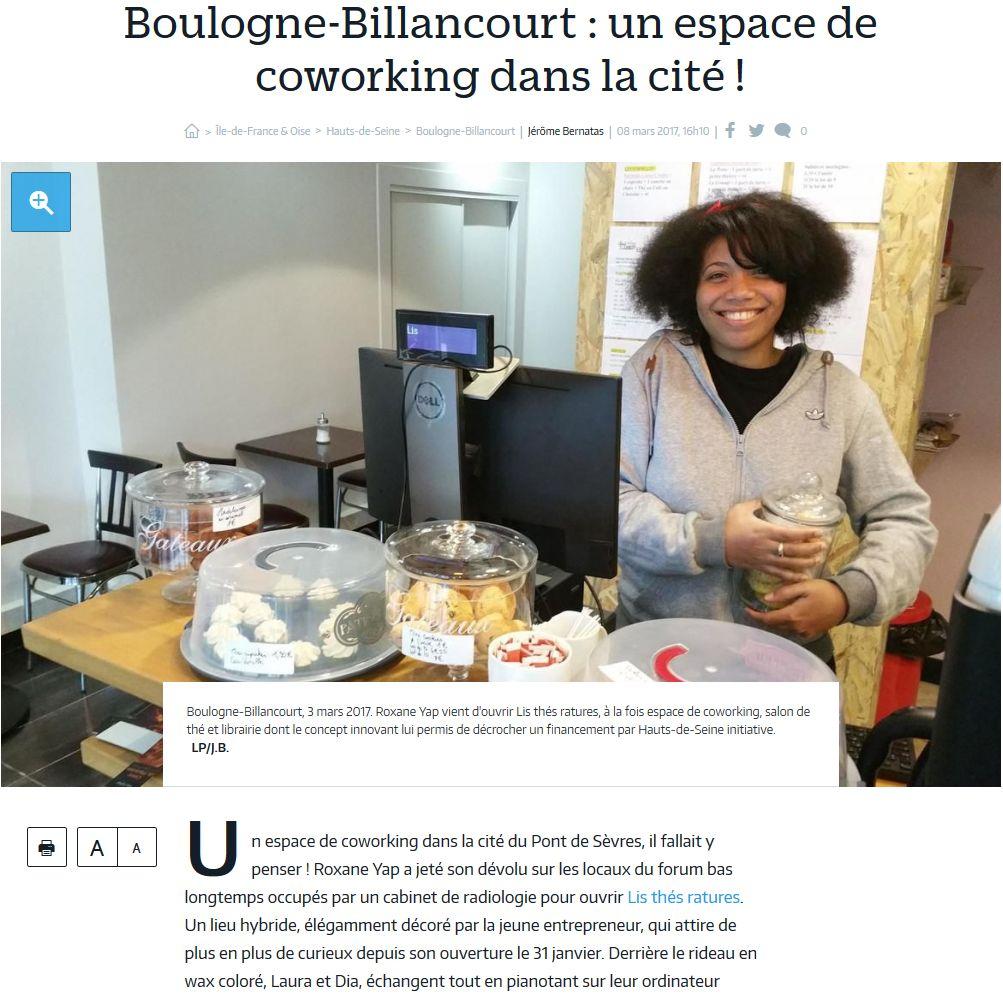 Espace de coworking Lis thés ratures Clipb108