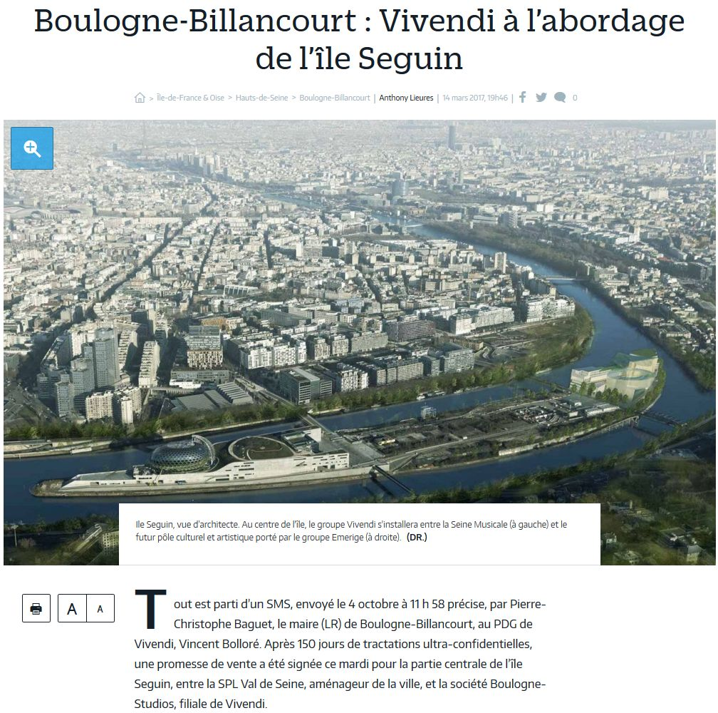 Campus Boulogne-Studios / Vivendi Clipb132