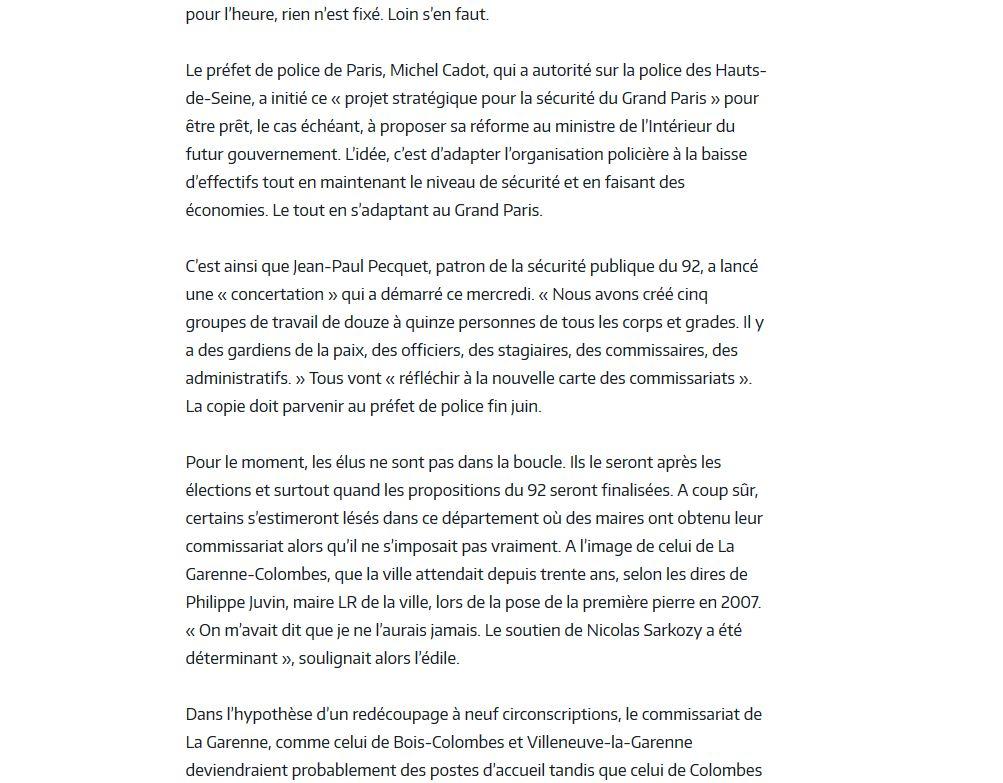 Commissariat de Boulogne-Billancourt Clipb337