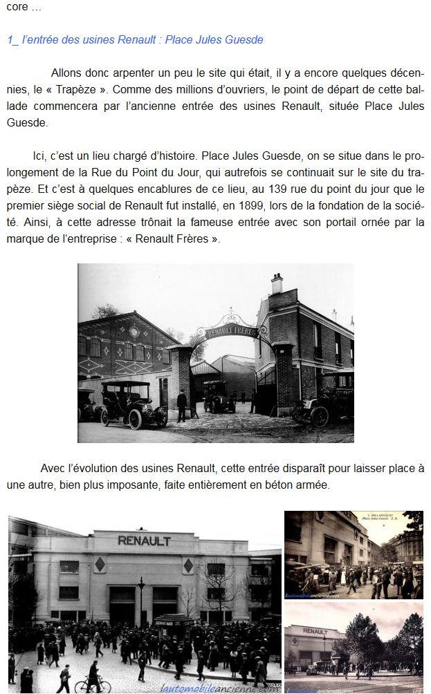 Histoire Renault Boulogne-Billancourt Clipb455