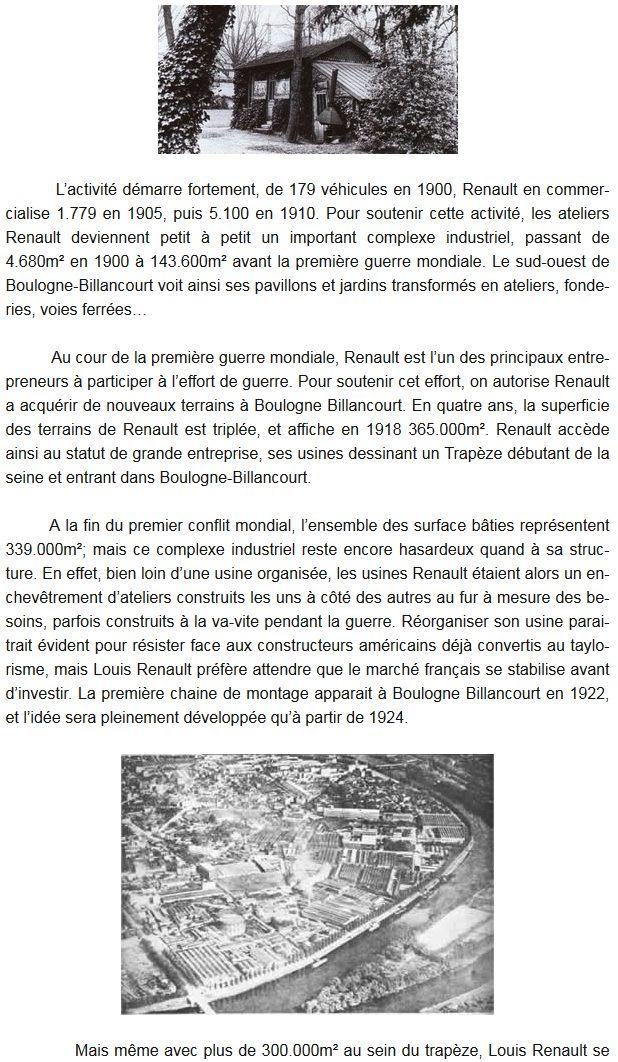 Histoire Renault Boulogne-Billancourt Clipb456