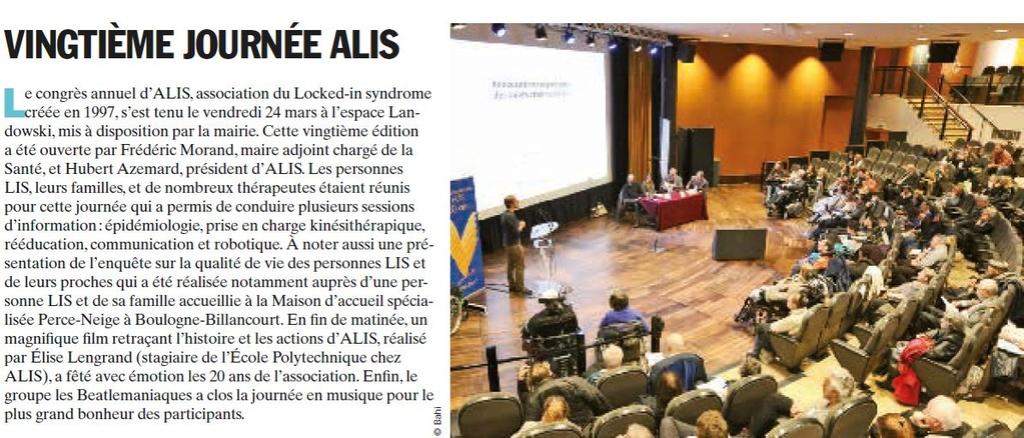 Association du Locked-in Syndrome (ALIS) Clipb474