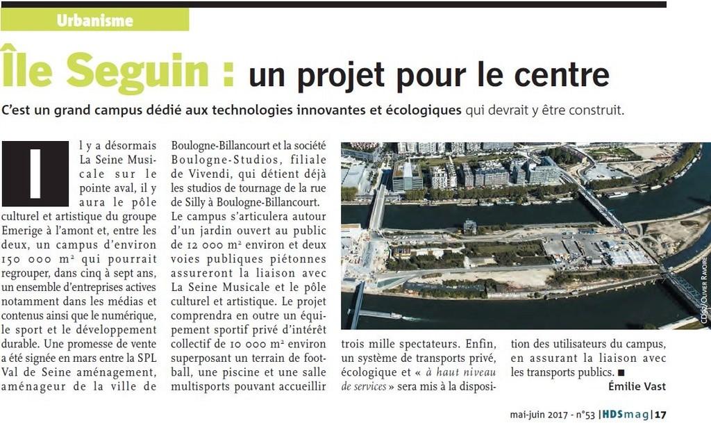 Campus Boulogne-Studios / Vivendi Clipb611