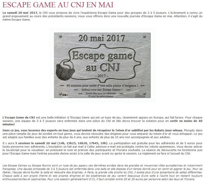 Centre Ludique de Boulogne-Billancourt (CLuBB) - Page 2 Clipb619