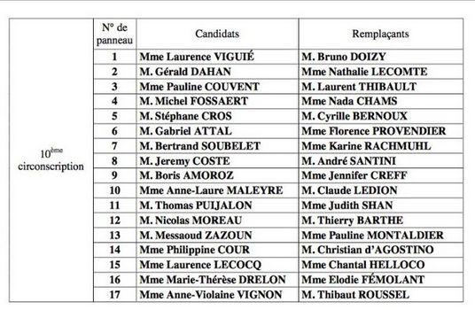 Elections législatives à Boulogne-Billancourt  Clipb643