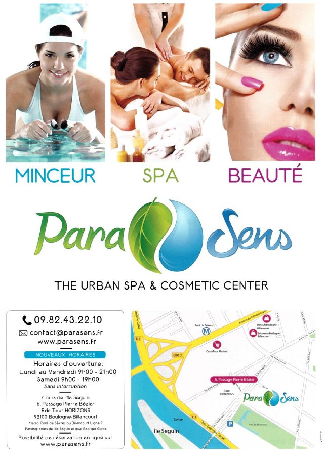ParaSens - The Urban Spa & Cosmetic Center Clipb666