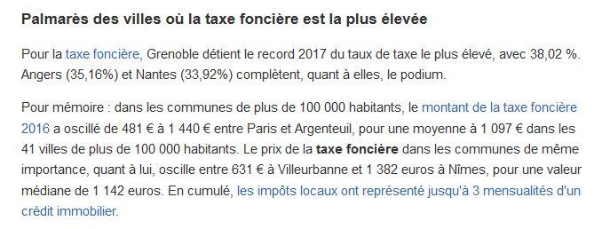 Taxe Foncière et Taxe d'habitation Clipb687