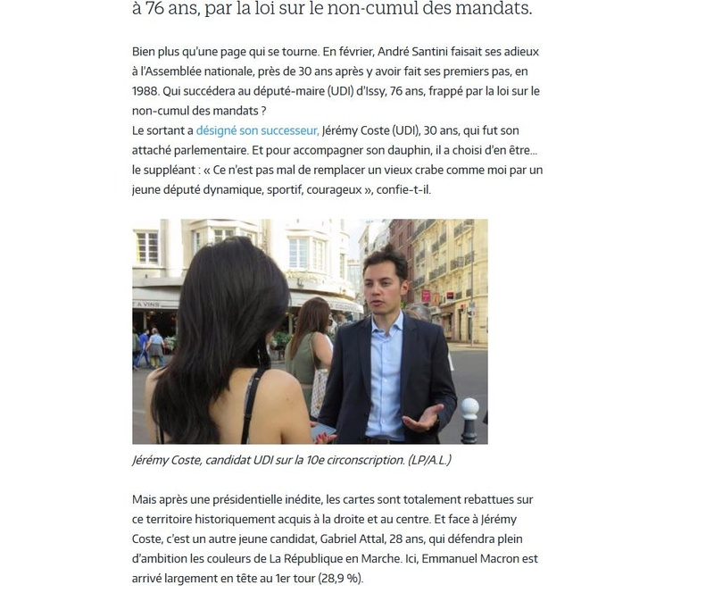 Elections législatives à Boulogne-Billancourt  Clipb711