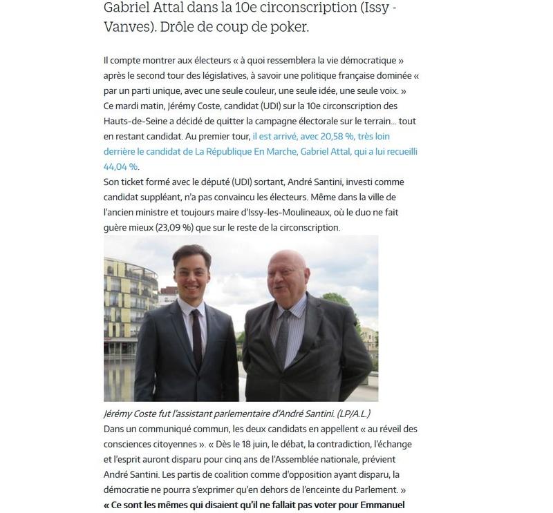 Elections législatives à Boulogne-Billancourt  Clipb807