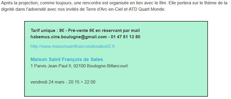 Evènements proposés par la Maison Saint François de Sales Clipbo52