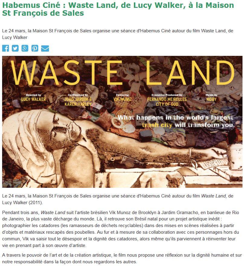 Evènements proposés par la Maison Saint François de Sales Clipbo53