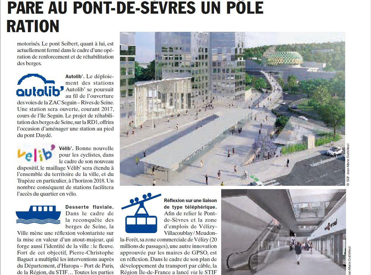 Carte des transports sur la ZAC Seguin Rives de Seine Clipbo66