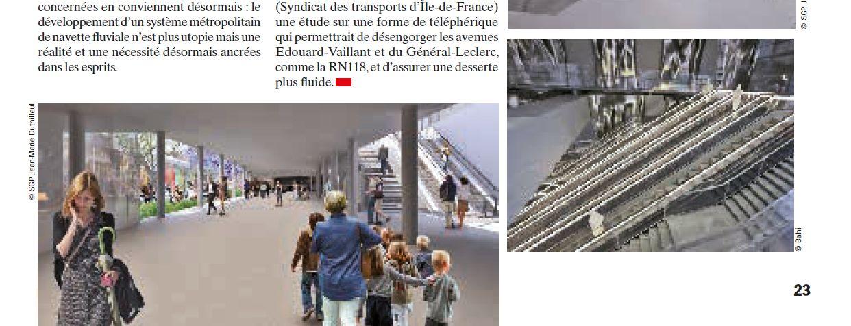 Carte des transports sur la ZAC Seguin Rives de Seine Clipbo67