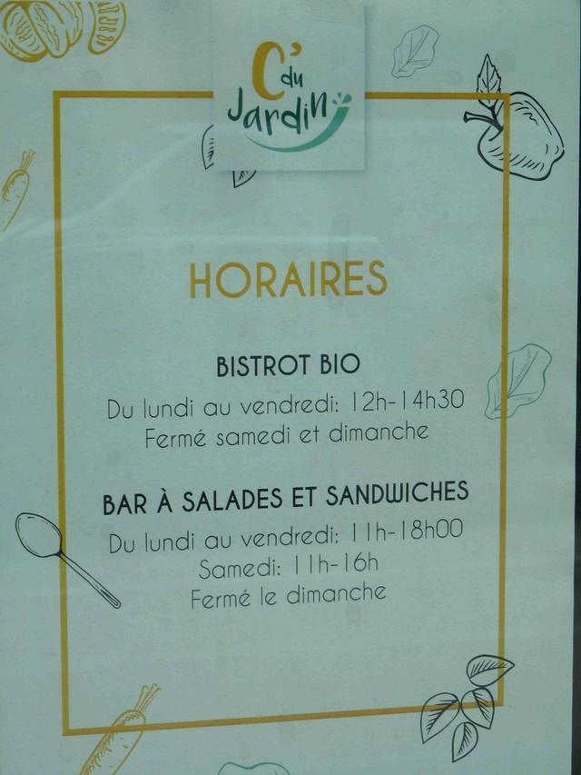 Restaurant C'du jardin Dsc09524