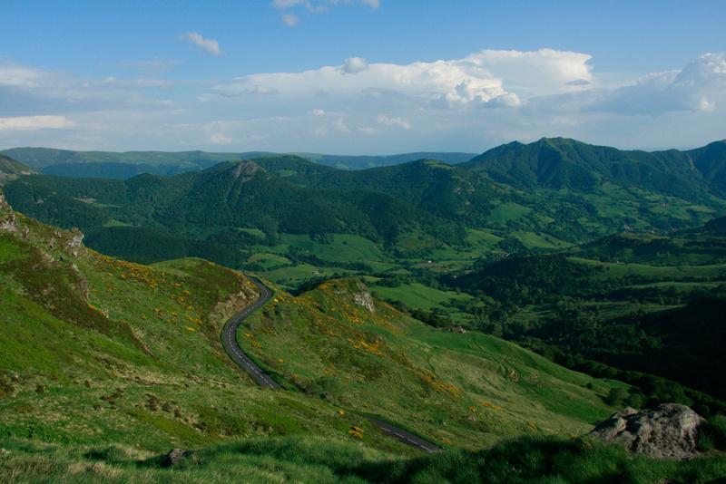 Journée sur les petites routes du parc des volcans d ' Auvergne Image77