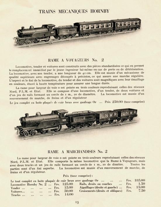Le HORNBY ANGLAIS. Pullma11
