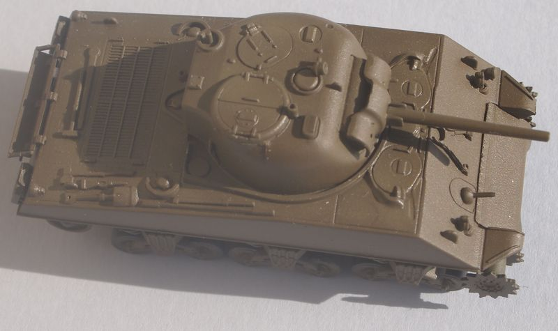 Sherman M4A3 Trumpeter 1/72 Sherma10