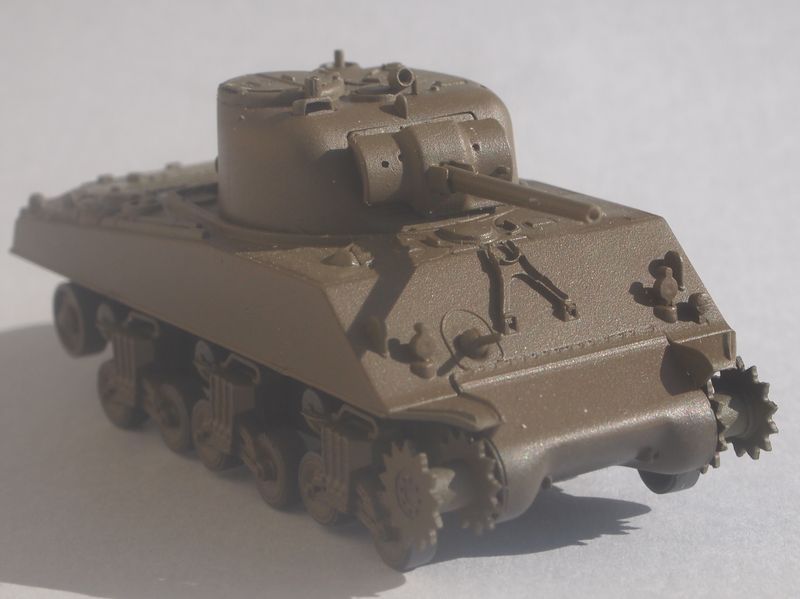 Sherman M4A3 Trumpeter 1/72 Sherma12