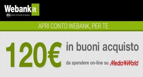WEBANK regala BUONO MEDIAWORLD € 120 [scaduta il 30/06/2017] Cattur11