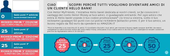 HELLO BANK regala BUONO AMAZON € 200 con codice presentatore III EDIZIONE [promozione scaduta il il 30/04/2019] Immagi10