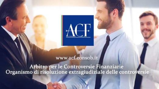 ARBITRO PER LE CONTROVERSIE FINANZIARIE (ACF) Arbitr10