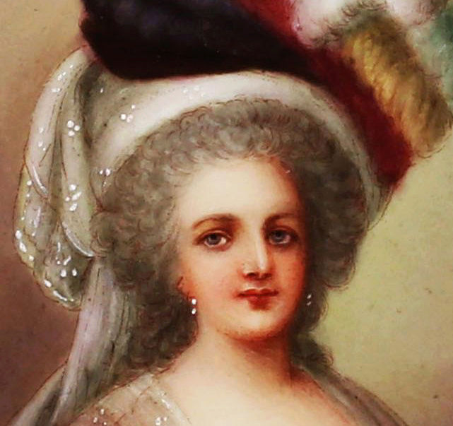Marie-Antoinette en robe rouge sans ses enfants - Page 2 Zzz211