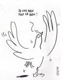 une mort certaine pour le symbole de la paix  Colomb10