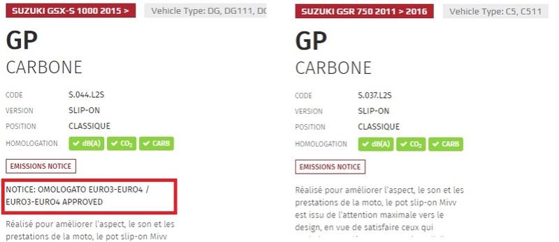 750 GSX-S échappement euro 4... Mivv10