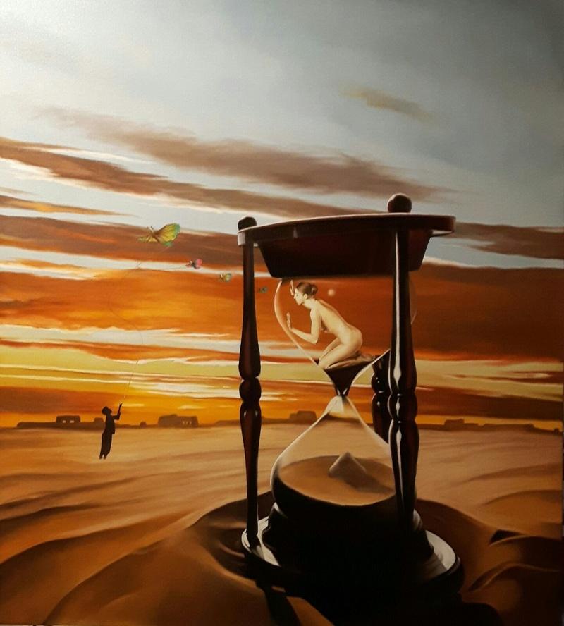 OPERE IN VENDITA; ARTISTA MAURIZIO MONTI. Desert11