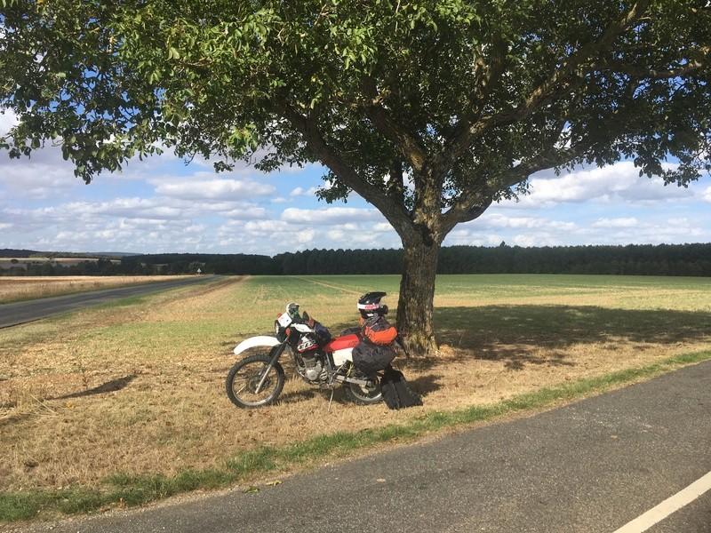 Toulouse / Paris (Aller/Retour) en ... XLR 125 ^^ Img_1015