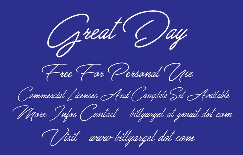 خط انجليزي مميز (Great Day) Great-10