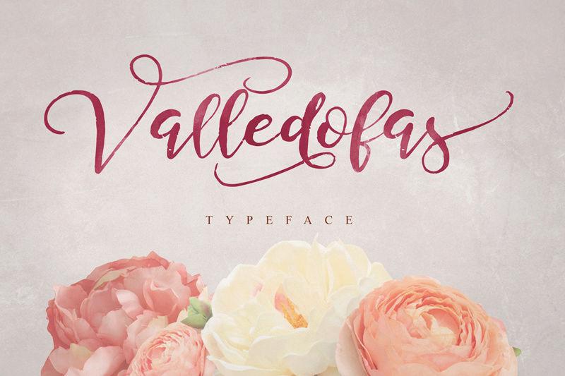 خط انجليزي جميل (Valledofas) Valled10