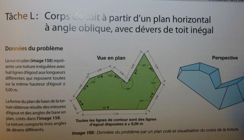 Exo Muller tâche K : corps de toit avec plusieurs annexes Captur11