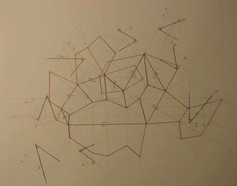 Exo Muller tâche K : corps de toit avec plusieurs annexes Captur14