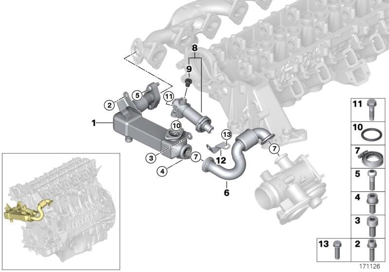 [ Bmw E46 330d M57N an 2003 ] Recherche des 2 thermostats B0044411