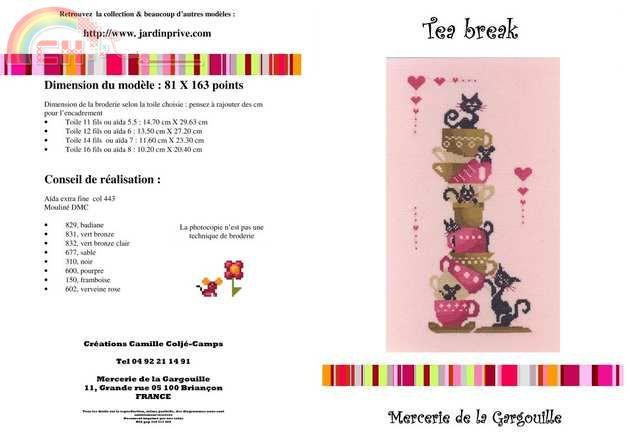 tea-break de jardin privé 12272610