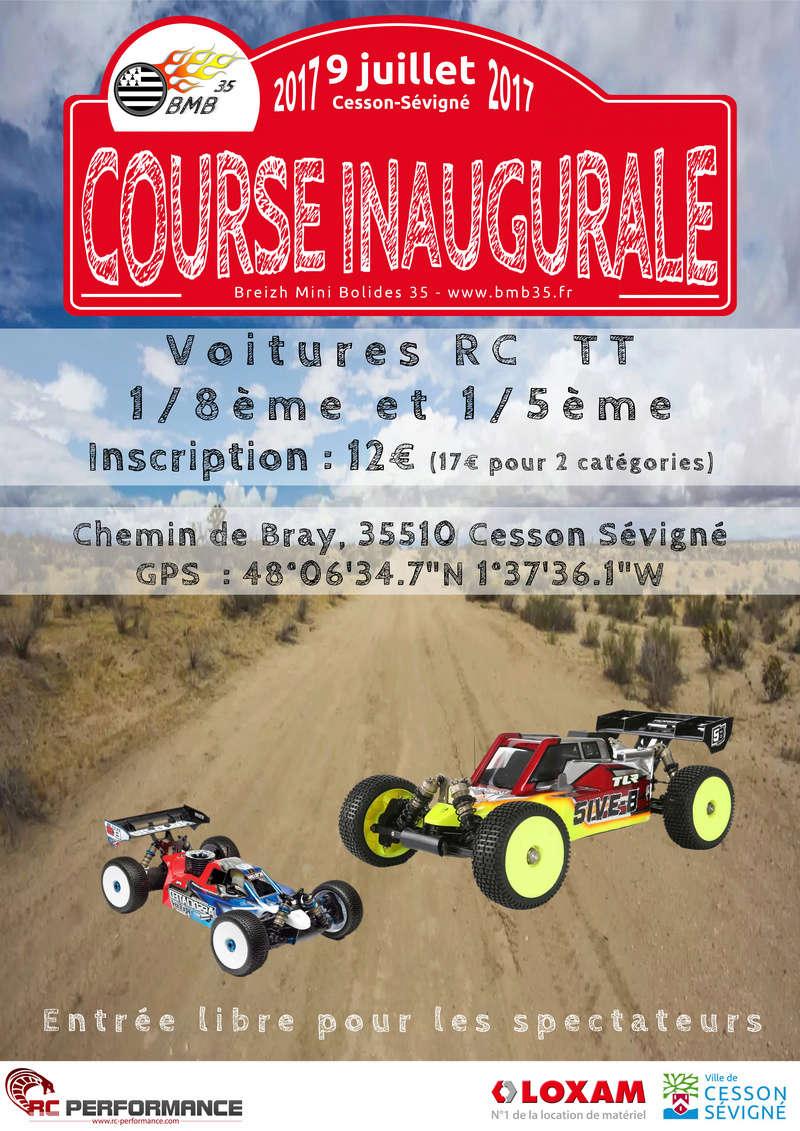 Course inaugurale du BMB35 (Rennes / Bretagne) - 9 juillet Affich11