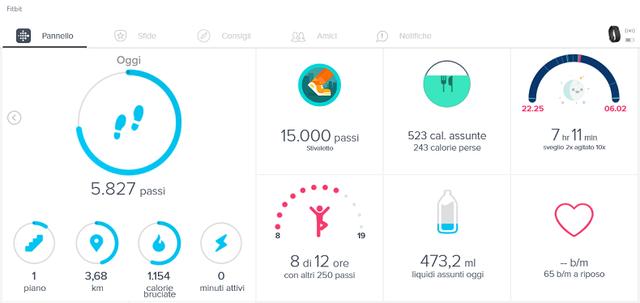 Il braccialetto FitBit fa bene alla salute? Home_f11